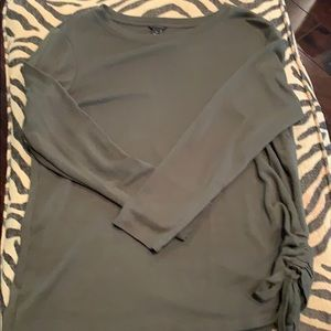 Ann Taylor army green top
